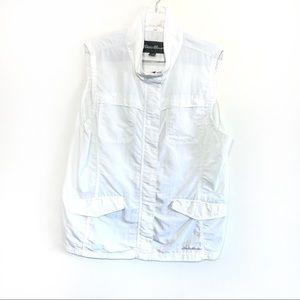 Eddie Bauer lightweight windbreaker vest jacket